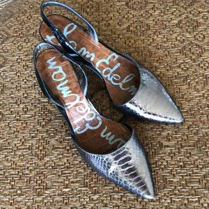 Sam Edelman slingback shoes